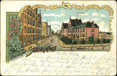 Zakłady Mięsne (Städtischer Schlachthof Danzig), Gdańsk - 1900 rok, stare zdjęcia