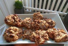 gezonde koekjes met maar 3 ingrediënten: havermout, banaan en chocolade, jammie!!!