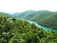 Rovinjsko Selo (Limski Fjord), Croatia