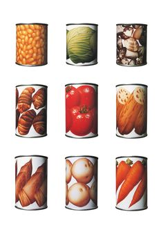 If they made canned veggies like this, I would just display them, and never eat them!