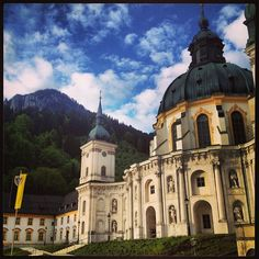 The working monastery in Ettal still operates its own brewery. While you need to be part of a large group in order to make reservations for a brewery tour, it's still worth stopping to see the impressive architecture of the Benediktinerabtei and to sample the beers sold onsite.
