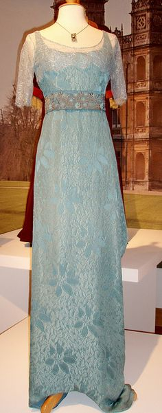Costume worn by Jessica Brown Findlay as Lady Sybil Crawley, in Downton Abbey, 2010