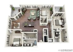 Two Bedroom Small House Plans Under Sq Ft Designs With