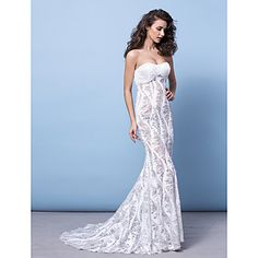 Trumpet/Mermaid Strapless Court Train Sequined Evening Dress (2463391) – USD $ 299.99