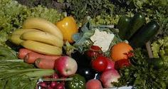 Number of tasty fruits and vegetables as harvested by London based farmers.