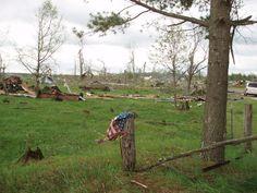 rockland wi tornado damage, May 22, 2011.