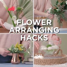 You don't need to be a pro to up your flower game. Elevate basic holiday bouquets with these simple hacks for creating floral arrangements with flair. Find everything you need Floral arrangements diy