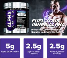 Kicking off the week with an awesome BCAA deal! Buy 2 get 1 FREE on the brand new Cellucor Alpha Amino BCAAs! Get 3 tubs for only $59.98! Grab the deal here: http://muscle.ms/1cdMyev