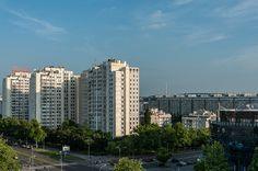 Novi Beograd, Blick vom Falkensteiner Hotel