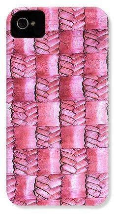 Weaving IPhone 4 / Case featuring the photograph Weaving Flax - Watermelon by Wairua o te Moana 5s Cases, Iphone Phone Cases, Iphone 4, Galaxy S4 Case, Moana, Watermelon, Weaving, Photograph, Prints