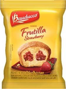 Bauducco Mini Cake Strawberry 4 Individually Wrapped 1.41oz each