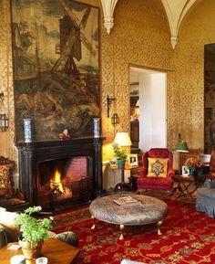 LISMORE CASTLE, Ireland - London Interior Designer Melissa Wyndham