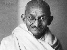 """A man is but the product of his thoughts what he thinks, he becomes."" - Gandhi"