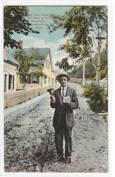 Town Crier Provincetown Massachusetts 1910c Postcard   eBay