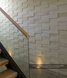 How to use tile with a 3-dimensional pattern to create a focal point in your home!