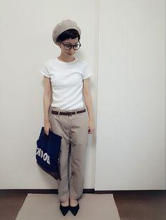 UNIQLOのパンツを使ったriiのコーディネートです。WEARはモデル・俳優・ショップスタッフなどの着こなしをチェックできるファッションコーディネートサイトです。