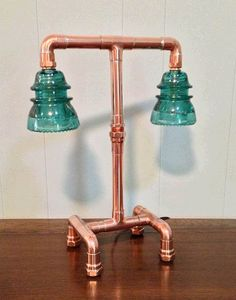 Dishfunctional Designs: Pipe Down! Unique Copper Pipe Home Decor & Artwork