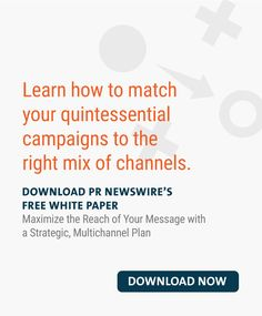 Maximize the Reach of Your Message with a Strategic, Multichannel Plan Writing A Press Release, Pr Newswire, Marketing Professional, Marketing Ideas, Your Message, Public Relations, White Paper, Growing Your Business, Content Marketing