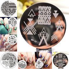 1pc 31 Designs Available Born Pretty Stamping Plate  Lace Starfish & Shell…