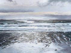 Fiona Haldane, Shifting Sand, Ardnamurchan, Pastel | Contemporary Scottish Art – Eduardo Alessandro Studios