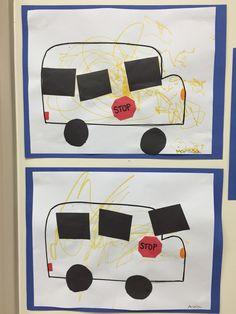Wheels on the bus toddler craft Preschool Letter B, Preschool Classroom, Preschool Crafts, Classroom Ideas, Toddler Art Projects, Toddler Crafts, Toddler Activities, Nursery Rhyme Crafts, Nursery Rhymes Preschool