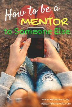 How to Be A Mentor.Melanie Redd Does the idea of being a mentor seem daunting? In today's Sharing Life post, Melanie Redd shares her thoughts on how to be a mentor. Youth Group Activities, Youth Groups, Group Games, Mentor Quotes, Mentor Program, Blogging, Pastors Wife, Youth Ministry, Ministry Ideas