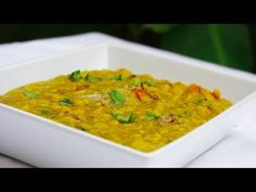 Recette de lentilles indiennes Chana daal - Cuisine vegetarienne et recettes indiennes video