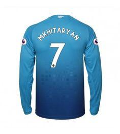 Arsenal Henrikh Mkhitaryan 7 Bortatröja 17-18 Långärmad Arsenal Fc, Wetsuit, Athletic, Zip, Swimwear, Jackets, Fashion, Scuba Wetsuit, Down Jackets