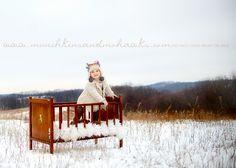 Outdoor children's photo ideas