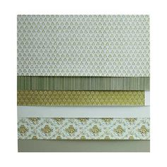 18-Sheet Green Wallpaper Assortment