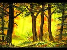 Enchanted Woods (5x7) / Small & Simple Oil Painting Exercise for Beginners