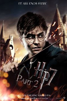 Number 7. Harry Potter and the Deathly Hallows (part 2)