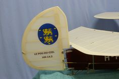 Rudder with West-Frisian flag and type designation