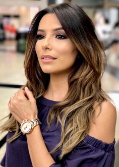 Eva Longoria Hairstyles Eva Longoria Elegant Long Hairstyle  Beauty  Pinterest  Eva