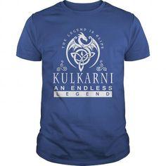 I Love KULKARNI The Legend is Alive an Endless Legend T-Shirts