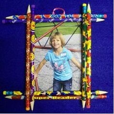Back to School or Use Holiday Pencils to Give to Parents for Holidays - 4th grade craft