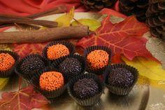 Fall brigadeiro... Brazilian chocolates oh so good!