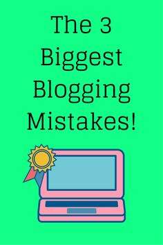 Click here to see what they are! #blogging #bloggingtips #bloggingmistakes…