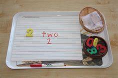 math - writing in math center