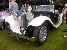 1935 Jaguar SS1 #old #classic #car