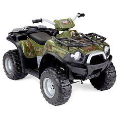 Power Wheels Kawasaki Brute Force #ATV for kids