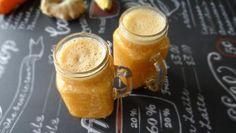 Wortelsmoothie met sinaasappel en gember
