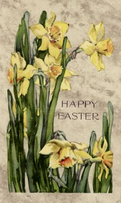 Vintage Easter Card from TwistedPapers.com