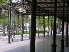 Spa, Belgium - Six O'Clock Park, Galerie Leopold II