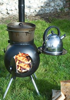 OzPig Pot-Bellied Stove
