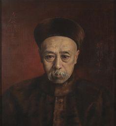 Hubert Vos - painting of Yikuang (1899)