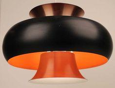 1960s Danish  Hanging Lamp  FOG MORUP HAMMERBORG Mid Century Eames Poulsen Era
