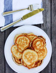 We love these gluten and dairy-free coconut pancakes so much, they've replaced the originals in our kitchen.