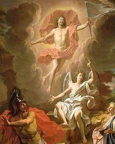 Noel-coypel-the-resurrection-of-christ-1700 - Resurrección de Jesús - Wikipedia, la enciclopedia libre
