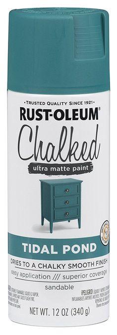 287722 Rust-Oleum Ultra Matte Interior Chalked Paint 30 oz, Clear - - Amazon.com